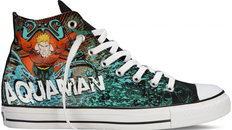 Converse Chuck Taylor DC Comics Aquaman Fall Winter 2012