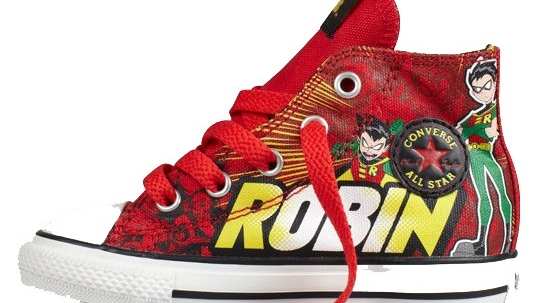 Converse Chuck Taylor DC Comics Robin Fall Winter 2012