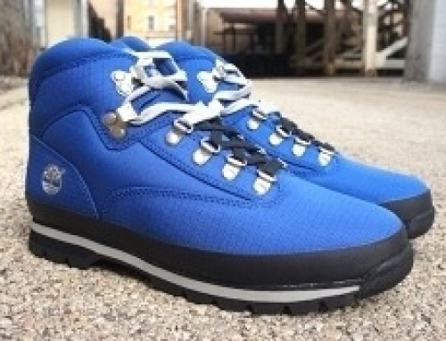 Timberland Blue Boots – Euro Hiker Edition