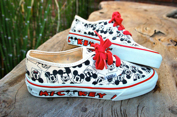 disney vans shoes kids