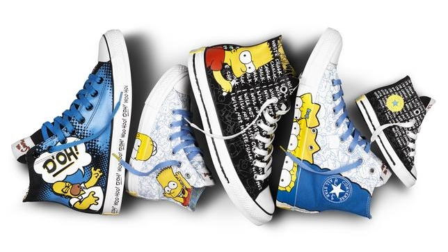 converse the simpsons special edition