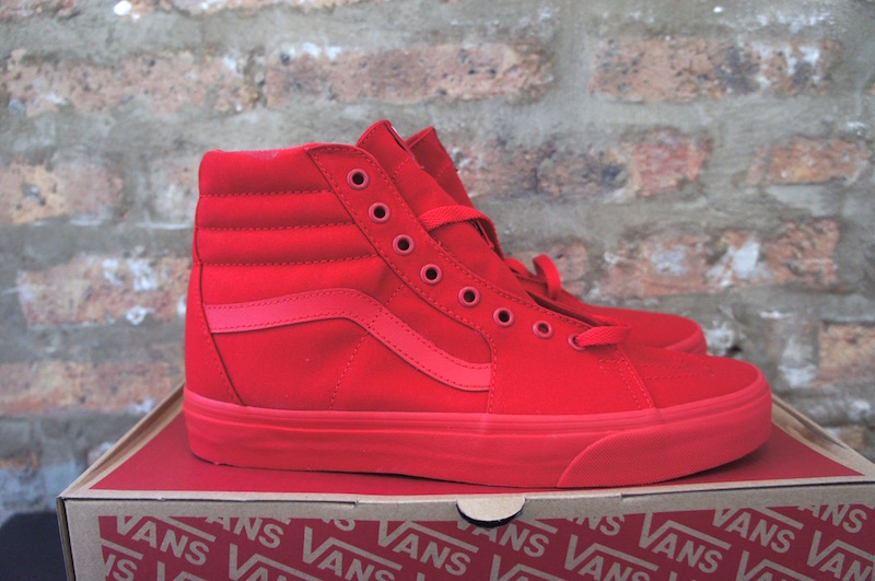 all red vans