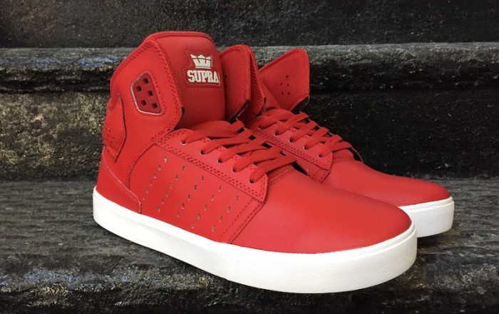 Supra Atom Skate Shoes Red