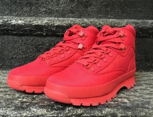 Timberland Euro Rip Mono Red Boots