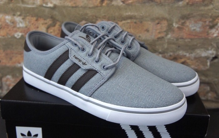 adidas originals seeley hemp grey main front