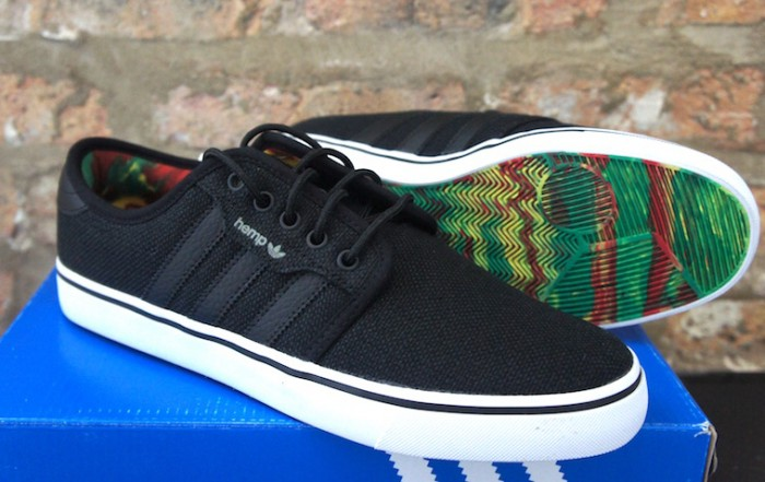 adidas Seeley Rasta Hemp black 3