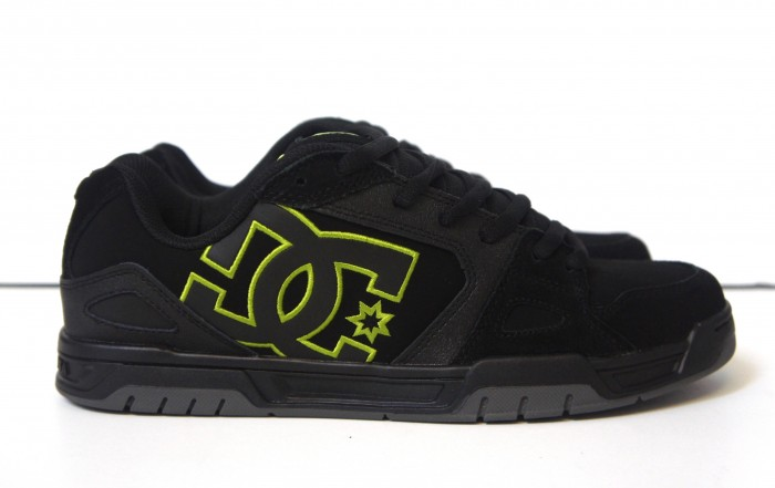 DC Caliber Skate Shoe Black Lime Sale