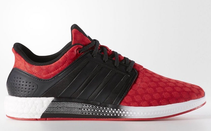 adidas Solar Boost Running Shoes Red Black Sale