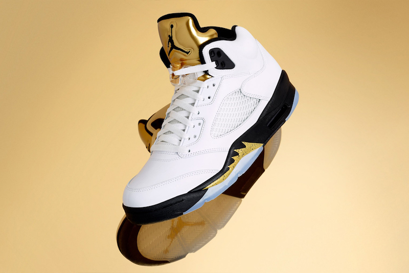 sports shoes ced1a 090ad Air Jordan 5 Olympic