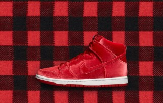 "Nike SB Dunk High ""Red Velvet"""