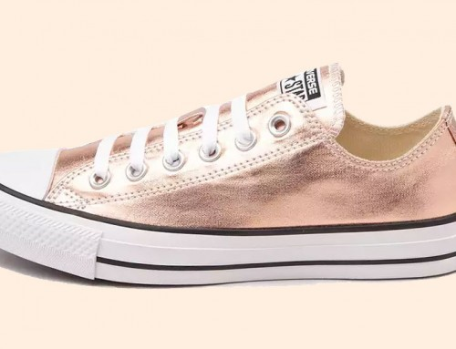 Converse All Star Metallic Rose Gold