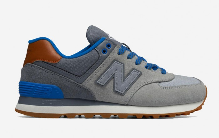 New Balance 574 Collegiate Gray