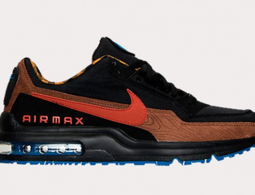 Nike Air Max LTD Wood Black Cognac Sale $69.98