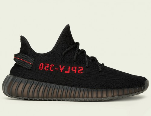 adidas Yeezy Boost 350 V2  Black & Red