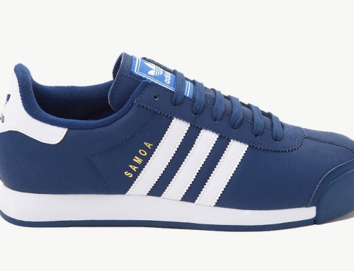 adidas Originals Samoa Navy White