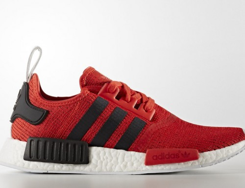 adidas Originals NMD R1 Red & Blue For March