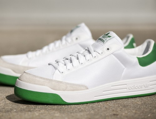adidas Rod Laver White Green Navy Sale $49.98