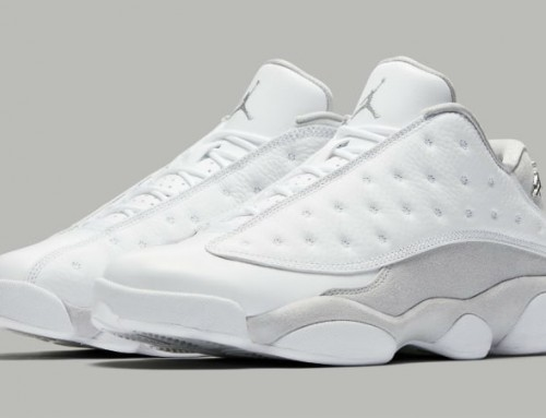 Air Jordan 13 Low Pure Platinum
