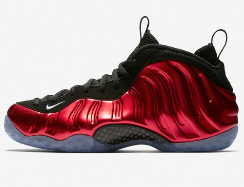 Nike Air Foamposite One Metallic Red Arrives This Week-End