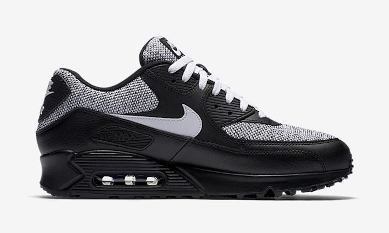 nike air max 90 essential just added a black gray version. Black Bedroom Furniture Sets. Home Design Ideas