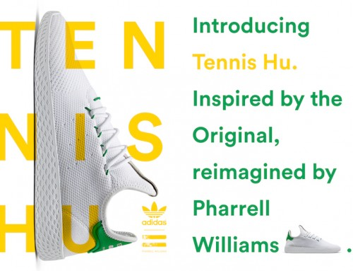 Pharrell Williams x adidas Originals Hu Tennis Pack