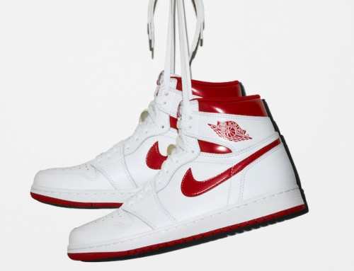 "Air Jordan 1 Hi OG ""Metallic Red"" Is Making a Comeback This Week-End"