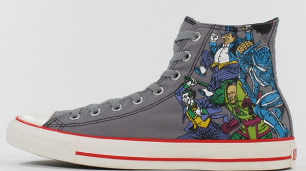 Converse Chuck Taylor All Star Superheroes Villains 2011 Spring