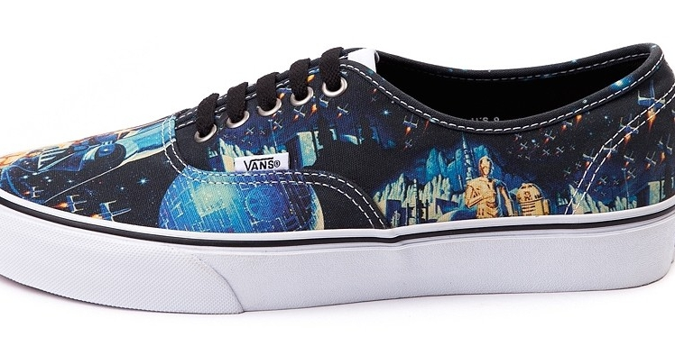 690cf395a3 Star Wars Vans Shoes Collection - Soleracks