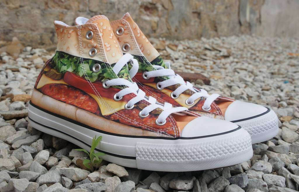 Converse Cheeseburger