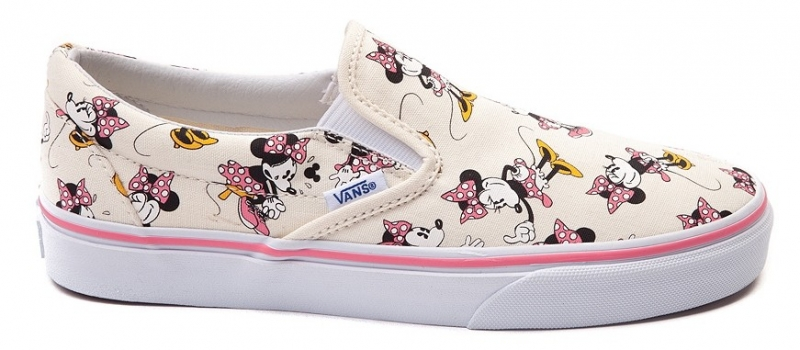 vans minnie mouse slip ons toddler