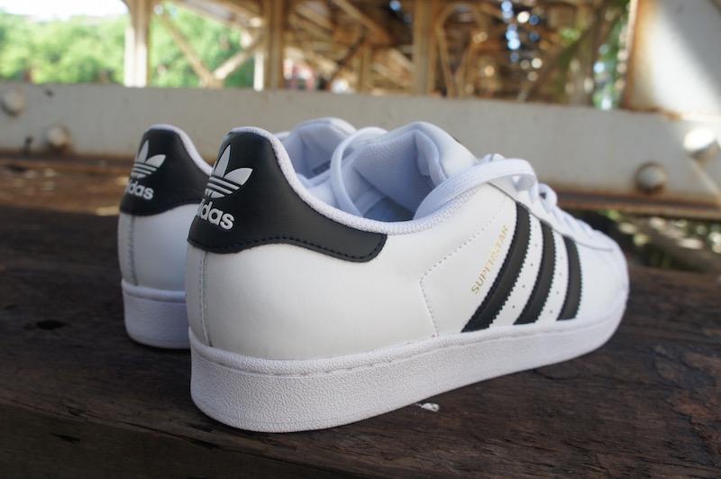 adidas superstar white black gold2