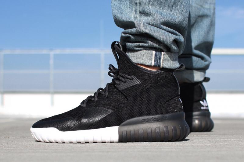 adidas tubular x men's black sneakers
