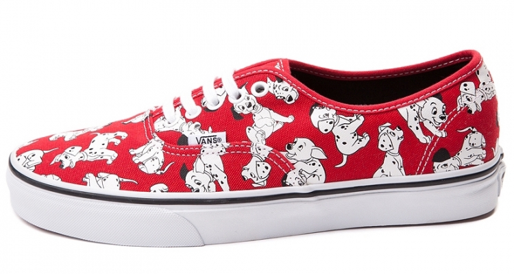 828ea836a2 alice in wonderland disney  vans disney dalmatians authentic ...
