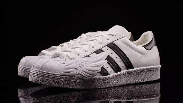 Mens Cheap Adidas Superstar Athletic Shoe white 436108 Journeys