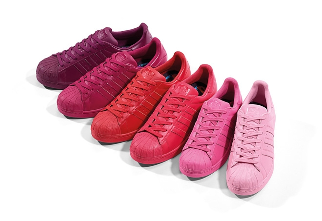 adidas superstar all one color
