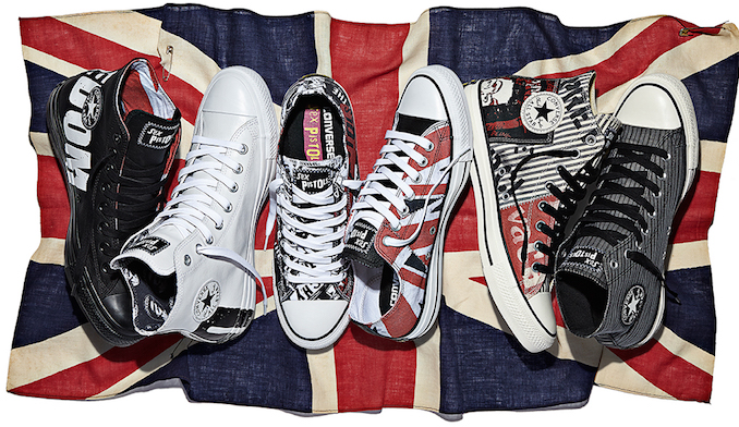 c0432929484e13 Converse Warhol Cow Print Shoes · converse sex pistols special edition