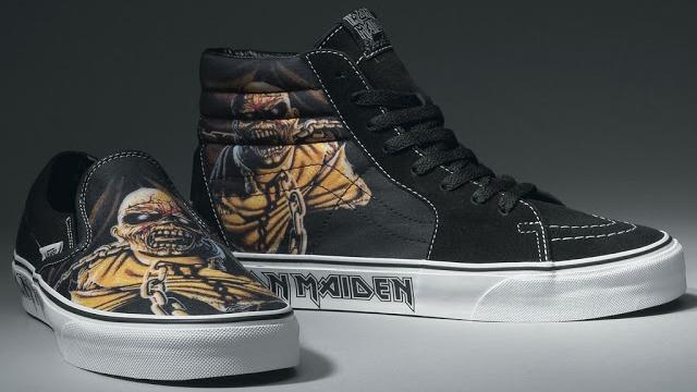Vans Iron Maiden Shoes Price