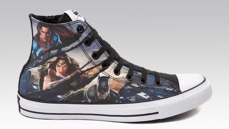 c0e1f5eeaf9e Converse Trinity DC Comics Shoes - Soleracks