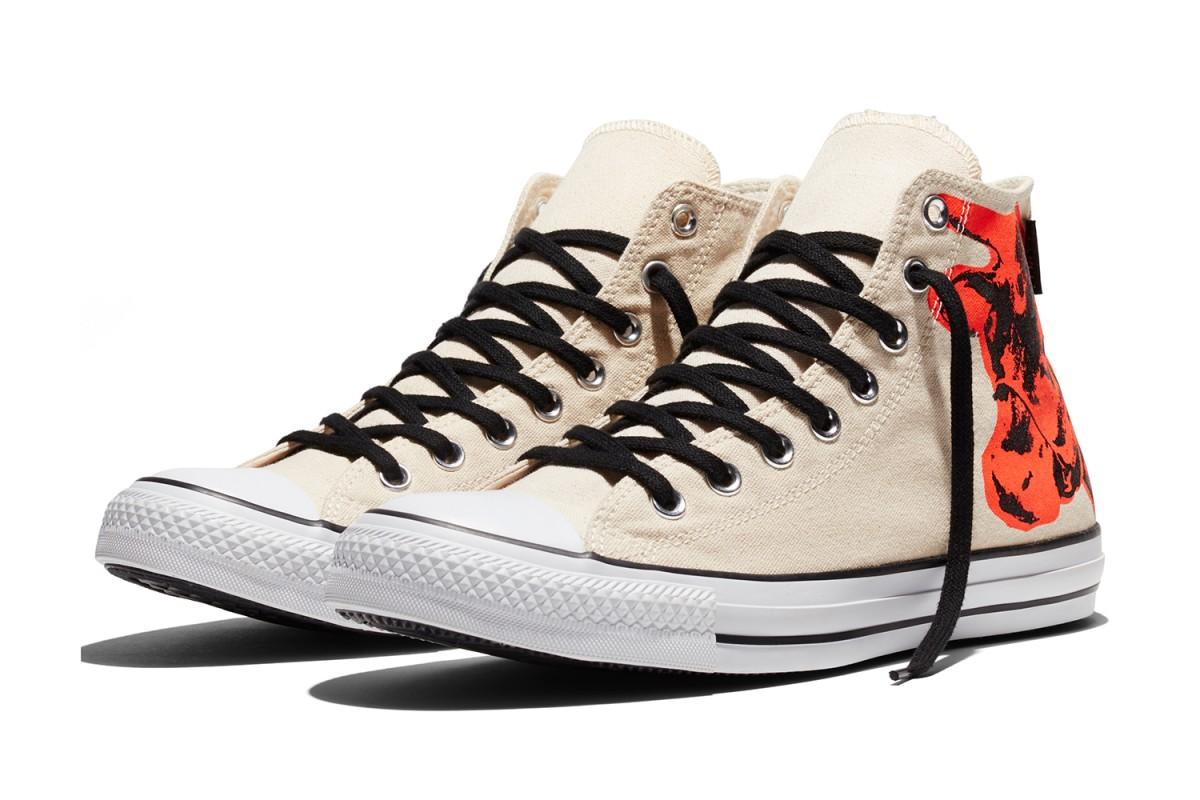 6c4e462772c2c1 Converse Warhol Cow Print Shoes - Soleracks