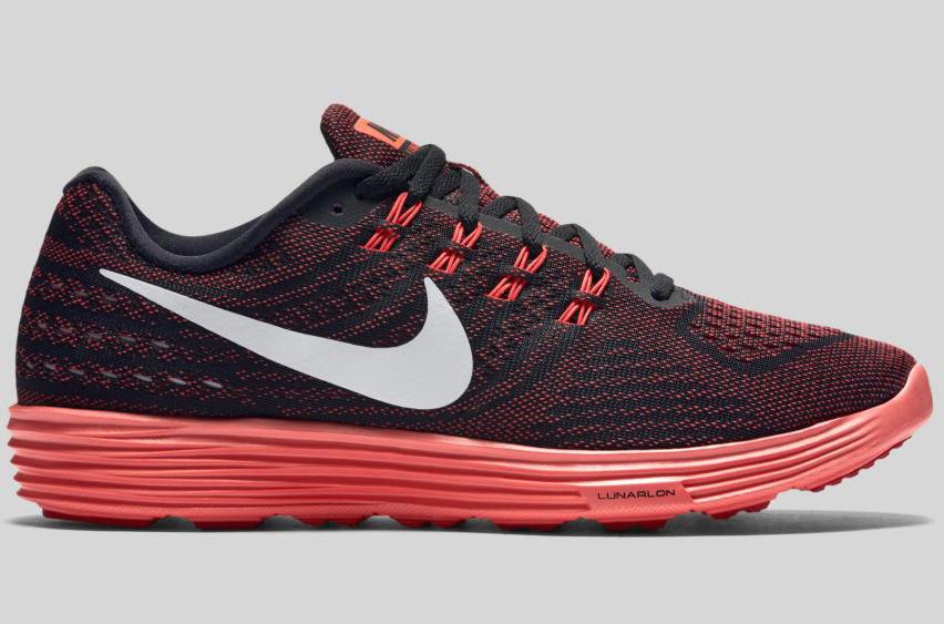 nike lunartempo 2 running shoes red crimson soleracks. Black Bedroom Furniture Sets. Home Design Ideas