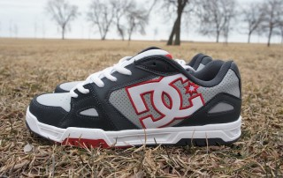 The DC Shoes Caliber skate shoe in gray and red was introduced last year and surely gained new fans for the brand.