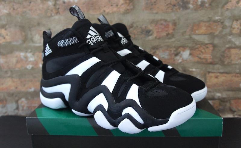 59238b54d2cc adidas Crazy 8 Retro Sneaker Black White - Soleracks