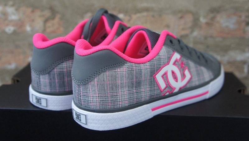 DC Chelsea Casual Shoes Pink Grey - Soleracks f4f998059