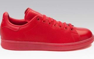 adidas stan smith mono red