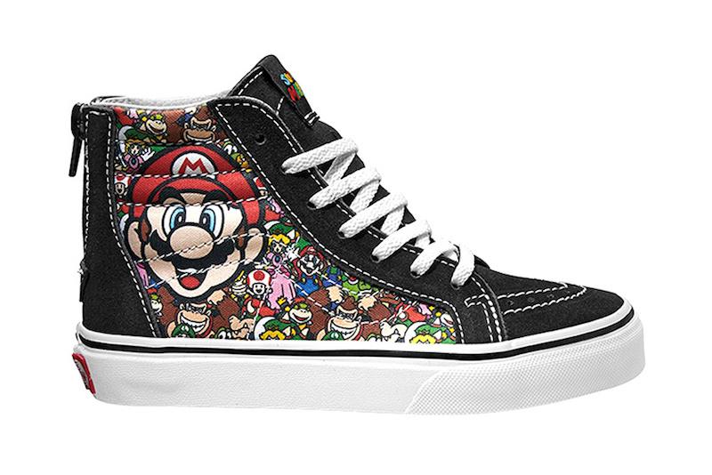 0fb8501464ac Vans Nintendo Shoes and Apparel Collab - Soleracks