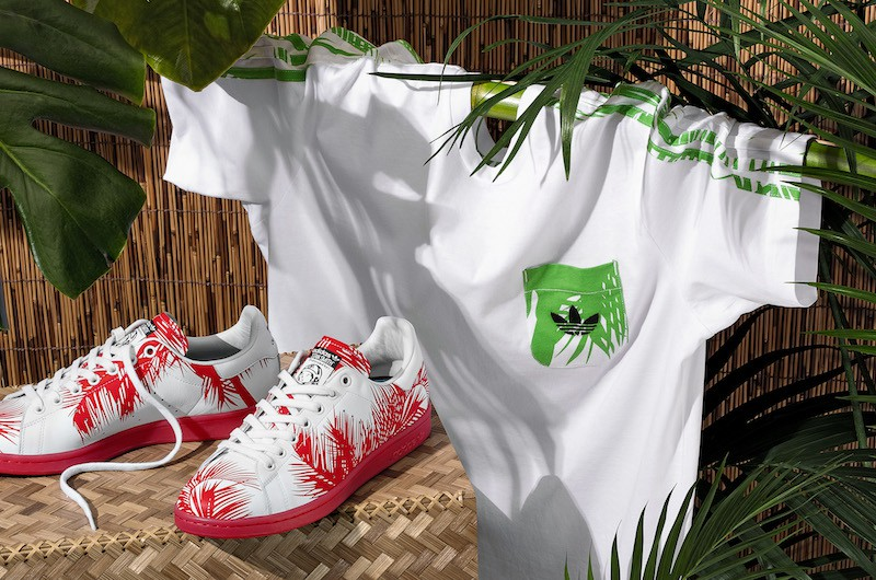 adidas Pharrell Williams Billionaire Boys Palm Tree Pack 8