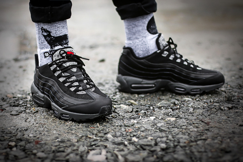 nike air max 95 essential black grey