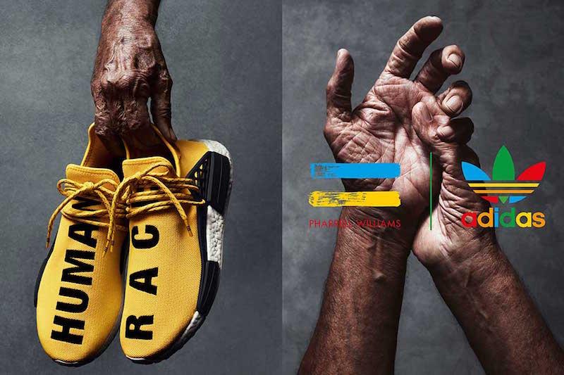 online store d3a4f fc3dc Pharrell Williams adidas Originals NMD Human Race - Soleracks