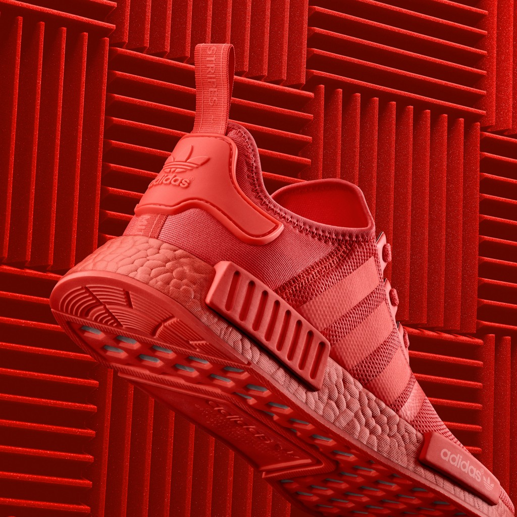 adidas NMD Triple Black And Red Color Boost Pack - Soleracks 124e1d15dea2