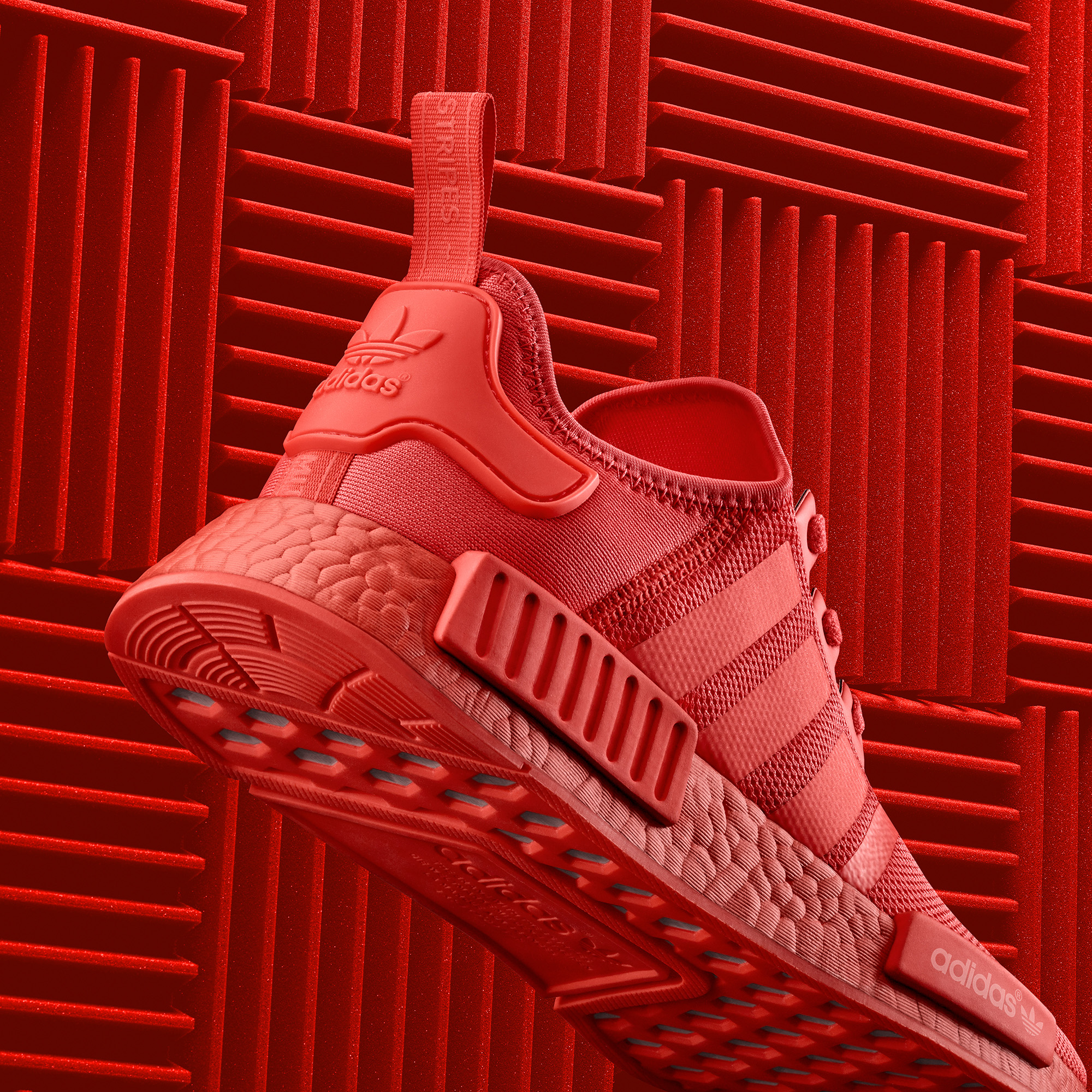 online retailer c98d5 5623c adidas NMD Triple Black And Red Color Boost Pack - Soleracks